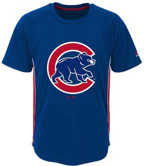 Majestic Boys 8-20 Chicago Cubs Champ Tee