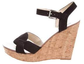 MICHAEL Michael Kors Suede Wedge Sandals