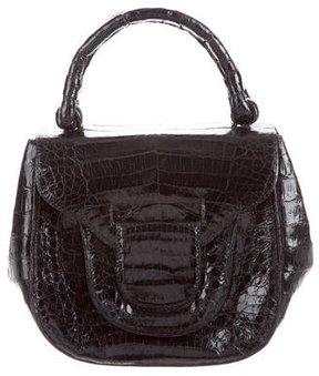 Nancy Gonzalez Small Flap-Top Handle Bag