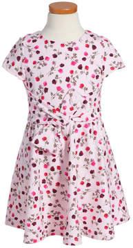 Kate Spade floral print fit & flare dress (Big Girls)