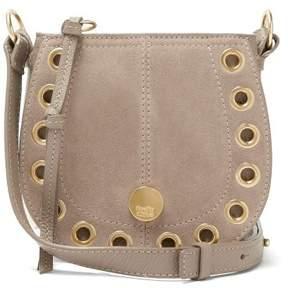 See by Chloe Kriss Suede Small Hobo Shoulder Bag - Womens - Grey