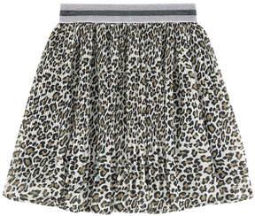 Pepe Jeans Printed pleated skirt