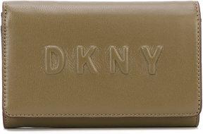 DKNY logo debossed wallet