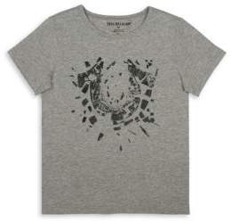 True Religion Toddler's, Little Boy's & Boy's Shattered Cotton Tee