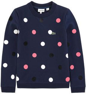 Lacoste Dotted sweatshirt