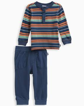 Splendid Baby Boy Stripe Jersey Set