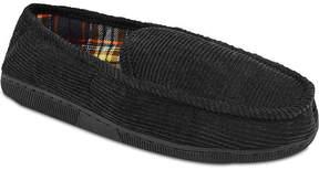 Muk Luks Mens Corduroy Moccasin Slippers