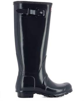 Hunter Women's Wft1000rglnavy Blue Rubber Boots.