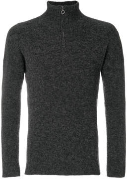 Roberto Collina zipped pull-over sweater