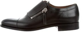 Givenchy Leather Zip Loafers w/ Tags