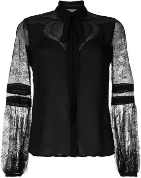 Elie Saab lace sleeves blouse