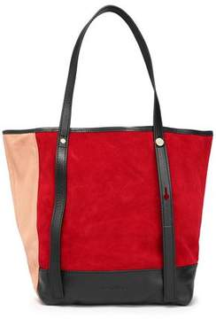 See by Chloe Andy Color-Block Suede Tote