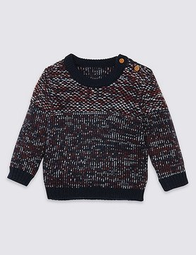 Marks and Spencer Textured Jumper