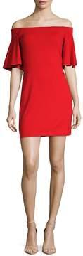 Susana Monaco Women's Sasha Off-The-Shoulder Dress