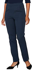 C. Wonder Stretch Twill Pull-On Ankle LengthPants