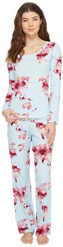 BedHead Long Sleeve Round-Neck with Classic Pants Pajama Set