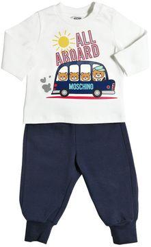 Moschino Cotton Jersey T-Shirt & Sweatpants