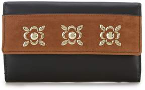 Kate Landry Vale Stud Checkbook Wallet