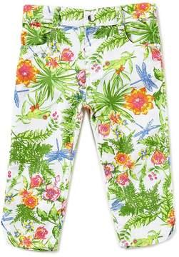 Flapdoodles Little Girls 2T-6X Printed Capri Pants