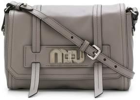 Miu Miu logo plaque satchel