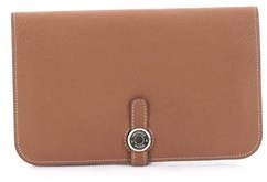 Hermes Pre-owned: Dogon Combined Wallet Leather. - BROWN - STYLE