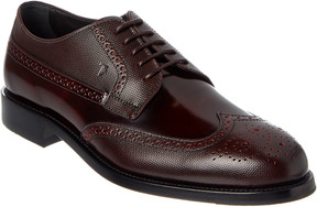 Tod's Wingtip Leather Oxford
