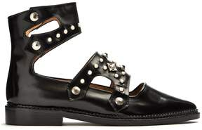 Toga Polido stud-embellished leather flats