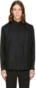 Fanmail Black Linen Shirt