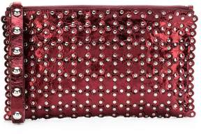 RED Valentino RED(V) studded clutch bag