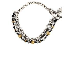 M. Cohen chain and beaded bracelet