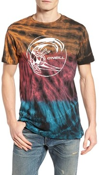 O'Neill Men's The Lawn Graphic Tie Dye T-Shirt