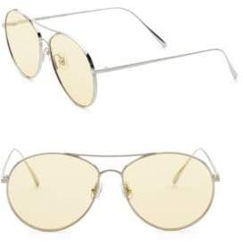 Gentle Monster Ranny Ring 57MM Aviator Sunglasses