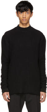 Rick Owens Black Level Lupetto Sweater