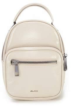 Aldo Hiawatha Patent Mini Backpack