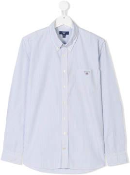 Gant Kids Teen striped button-down shirt