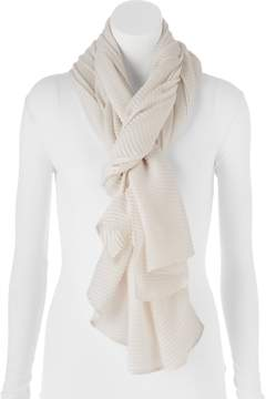 Apt. 9 Solid Pleated Oblong Scarf