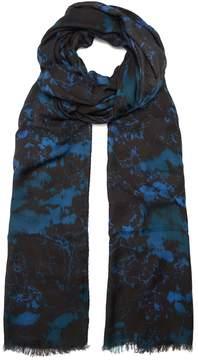 Balmain Camouflage-print scarf