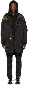 Public School Black Razin Hooded Parka