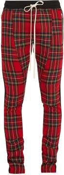 Fear Of God Skinny-fit wool-tartan trousers
