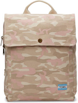 Toms Birch Camo Trekker Backpack