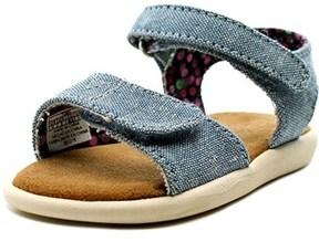 Toms Strappy Open-toe Canvas Slingback Sandal.