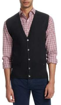 Isaia Buttoned Wool Vest
