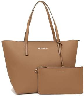 Michael Kors Hayley Large Coated Canvas Tote - Acorn - 30S7GH3T7B-541