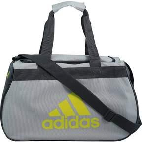 adidas Small Diablo Duffel Bag Polyester Top-Handle - Clear Grey / Onix Shock Slime