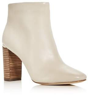 Pour La Victoire Rickie Leather High Heel Booties