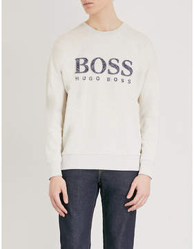 BOSS ORANGE jersey sweatshirt