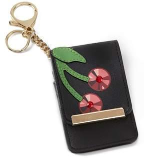 Kate Landry Cherry Card Case Key Chain