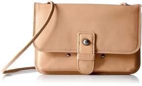 Lucky Brand Womens Liza Crossbody Glazed Leather
