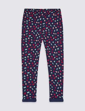Marks and Spencer Pure Cotton Printed Joggers (3 Months - 5 Years)