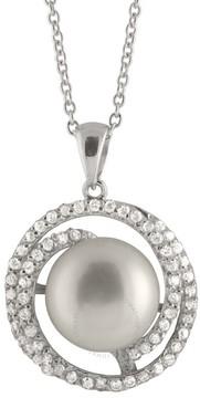 Bella Pearl Sterling Silver Pendant Necklace